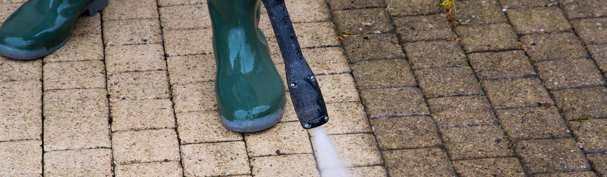 Kärcher Pflasterstein Reinigung